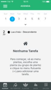 aplicativo de cultivo