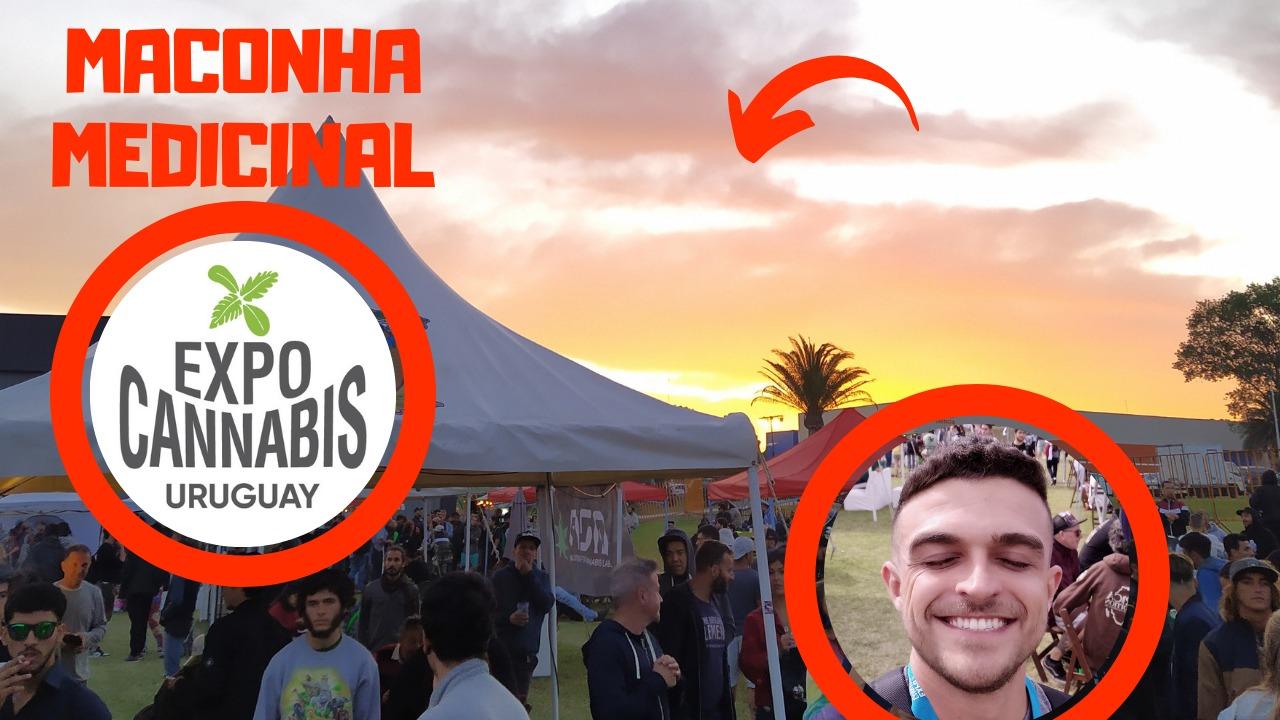 Visitei as empresas de CANNABIS MEDICINAL na Expo Cannabis Uruguay