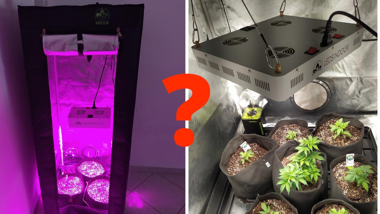 É preciso ser rico para ter um cultivo indoor?